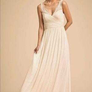 "BHLDN Hitherto ""Fleur"" Wedding Dress in ivory"